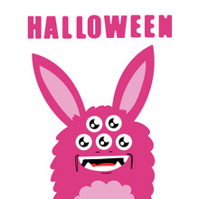 Cute Monsters, Halloween Conce...