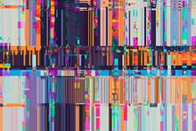 Digital Pixel Glitch Circuit