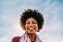 Portrait Of A Black Woman On T...