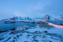 First Lights At Hamnoy
