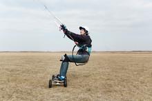 ATB Kite Boarding Portrait