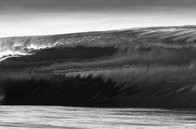 A Huge And Powerful Wave Break...