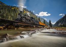 Narrow Gauge Railroad Train