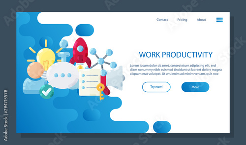 Photo  Productivity landing page
