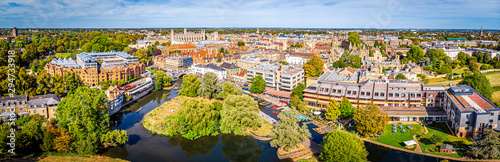 Photo Aerial view of Cambridge, United Kingdom