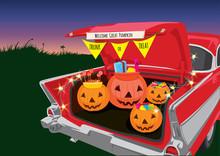 Trunk Or Treat Halloween Night