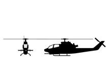 AH-1 Cobra  Silhouette