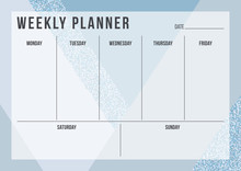 Weekly Planning Template With ...