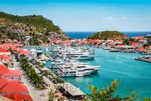 Gustavia, St Barts. Luxury Yac...