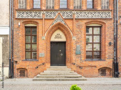 Staande foto Oude gebouw Copernicus House