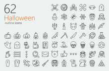 Halloween Outline Iconset