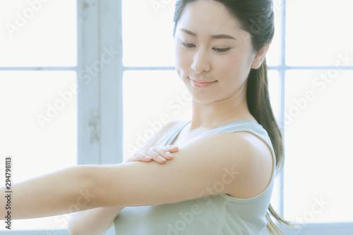 若い女性 Fototapeta
