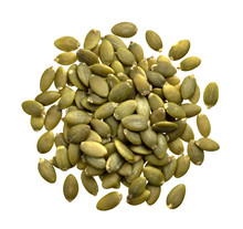 Peeled Pumpkin Seeds Isolated ...