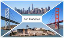 Postcard Of San Francisco City