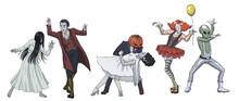 Fun Dancing Halloween Monsters...