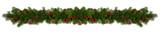 Fototapeta Kawa jest smaczna - Christmas frame of tree branches
