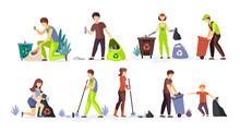 People Collect Garbage, Plasti...