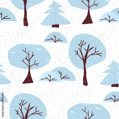 zimowe-drzewo-wzor-boze-narodzenie-las-ilustracji-wektorowych-skandynawskie-mgliste-tlo-kreatywne-owijanie-lasow