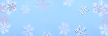 Winter Background. White Snowf...