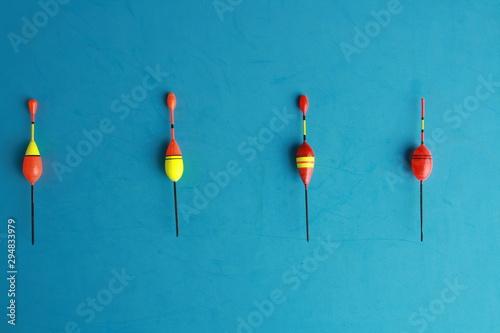 Fototapeta  ball or cork, for fishing with rod