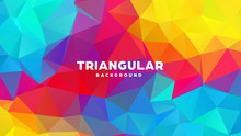 Triangle Polygonal Abstract Ge...