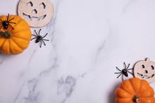 Halloween Composition. Pumpkin...