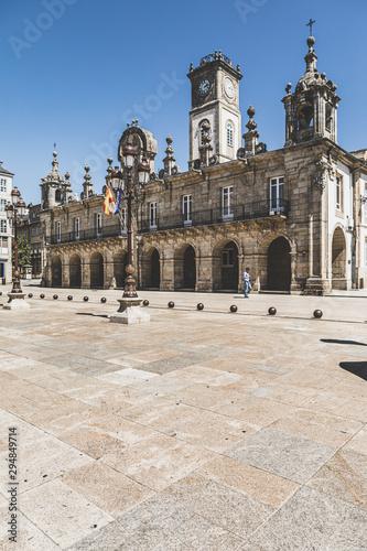 Lugo City Hall. Galicia. Spain.