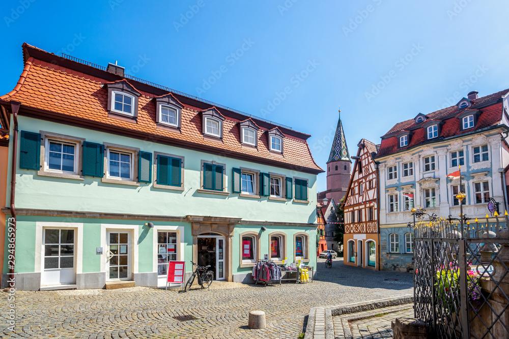 Fototapeta Altstadt Bad Windsheim, Bayern, Deutschland