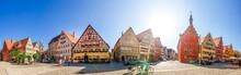 Panorama, Dinkelsbühl, Bayern...