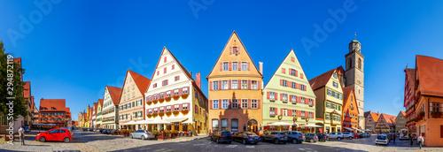Weinmarkt, Dinkelsbühl, Bayern, Deutschland