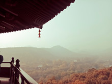 View From Leifeng Pagoda Hangzhou West Lake Autumn Scenery In China.