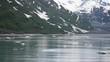 Icefield on the sea