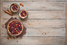 Cranberry Pecan Pies