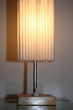 Old Table Lamp With Lampshade
