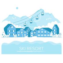 Ski Resort Vacation With Ski L...