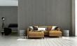 Leinwanddruck Bild Modern loft white living room and wood texture wall panel background