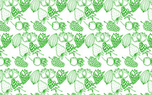 Berry Color Hand Drawn Vector ...