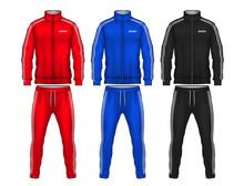 Sport Track Suit Design Templa...