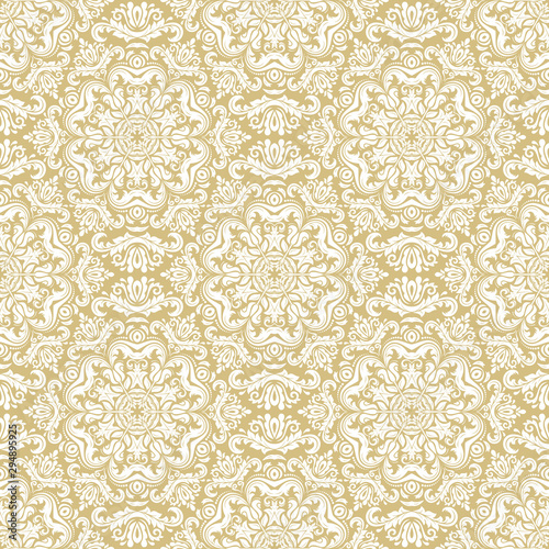Orient classic pattern Canvas