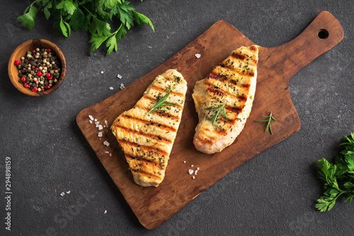 Grilled Turkey Breast Fototapet