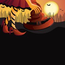 Girl In Halloween Costume Take...