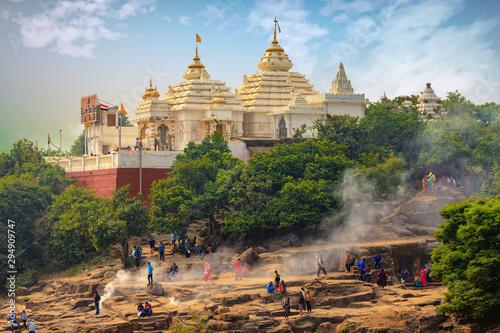 fototapeta na ścianę The Jain Indian temple in Bhubaneswar