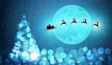 Albero Di Natale, Natale, Luci, Bokeh, Illuminato, Feste Di Natale