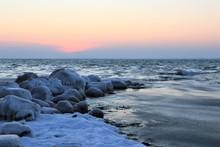 Winter Sea Scene