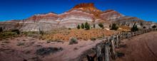 Wide Panorama Of Beautiful Str...