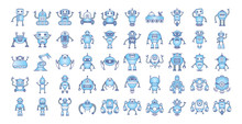 Bundle Of Robots Cyborg Set Ic...