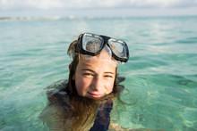 Portrait Of Teenage Girl Weari...