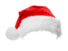 Santa Claus Red Hat Isolated O...