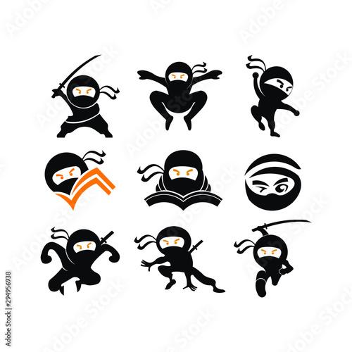 Ninja Samurai Warrior Fighter Character Cartoon Martial Art Weapon Shuriken Wallpaper Mural