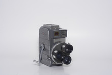 8mm Camera With 3 Lenses